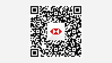 QR code on HSBC China Mobile Banking APP